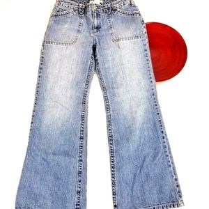 VTG 90's Tommy Hilfiger Jeans Wide Boot Cut Mid